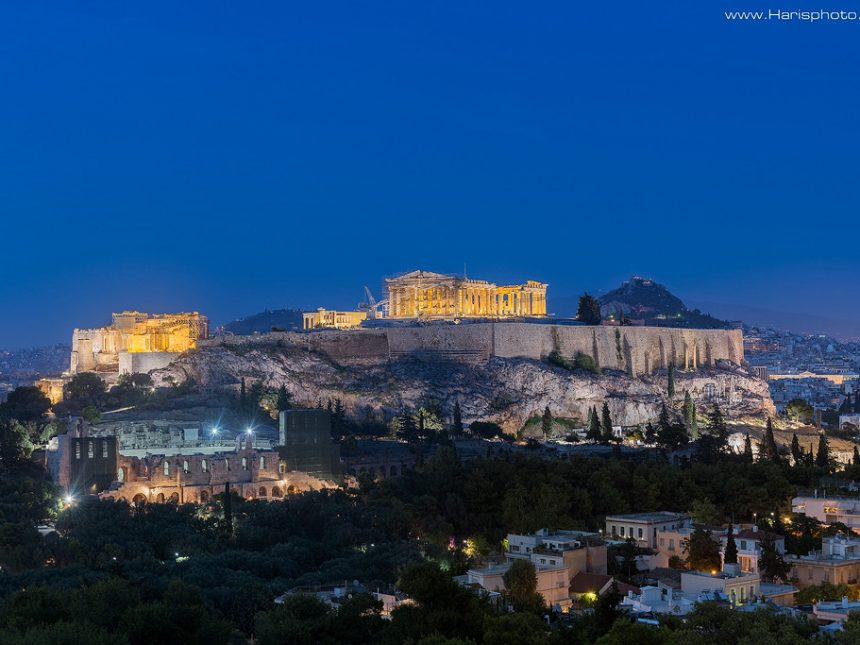 Acropolis and Herodion theatre