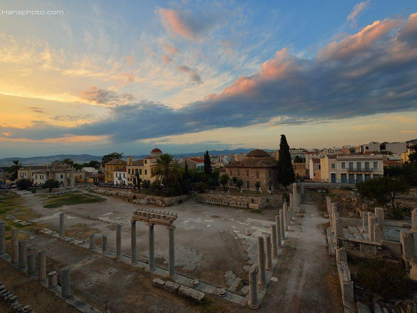 Ancient Roman market at Monastiraki