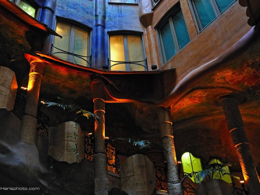 Casa la pedrera , Gaudi