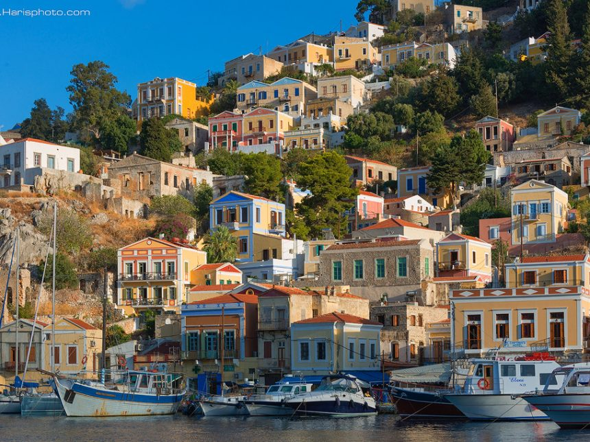 Symi harbor