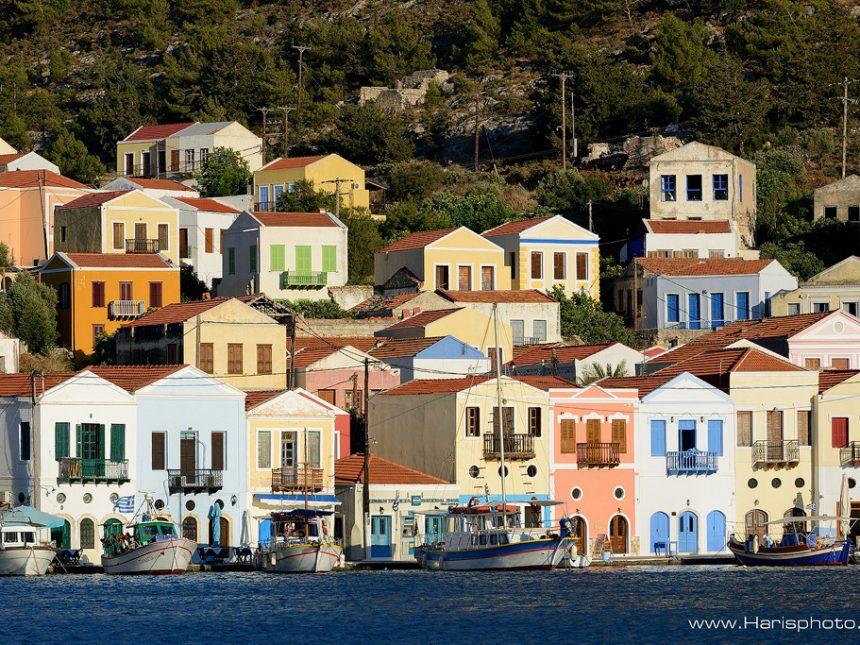 Colorful houses of Kastellorizo