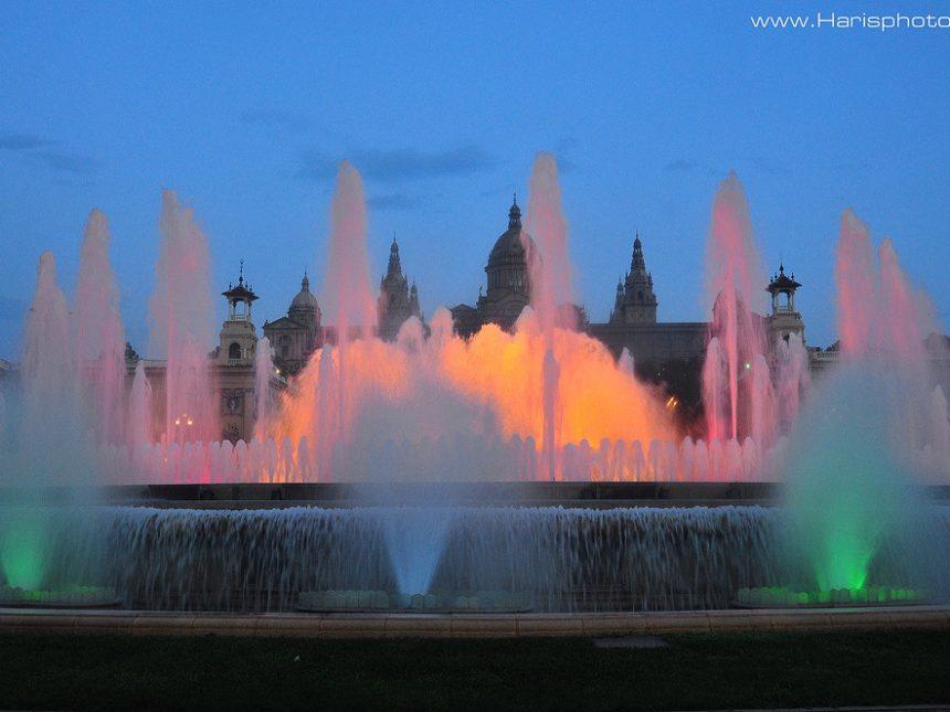 Fountain de montjuic barcelona