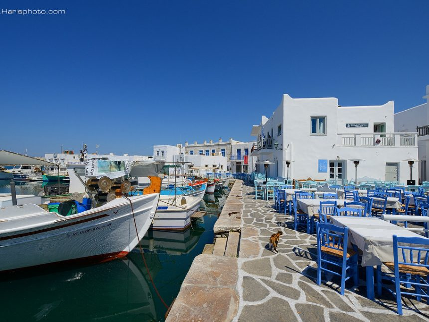 Harbor of Naoussa
