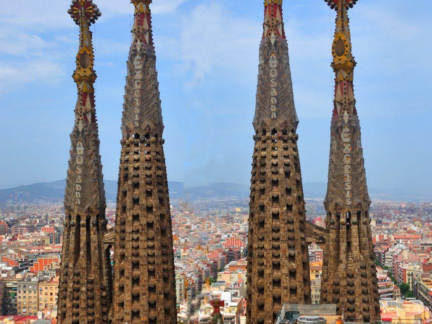 Gaudi , La sagrada familia – Barcelona