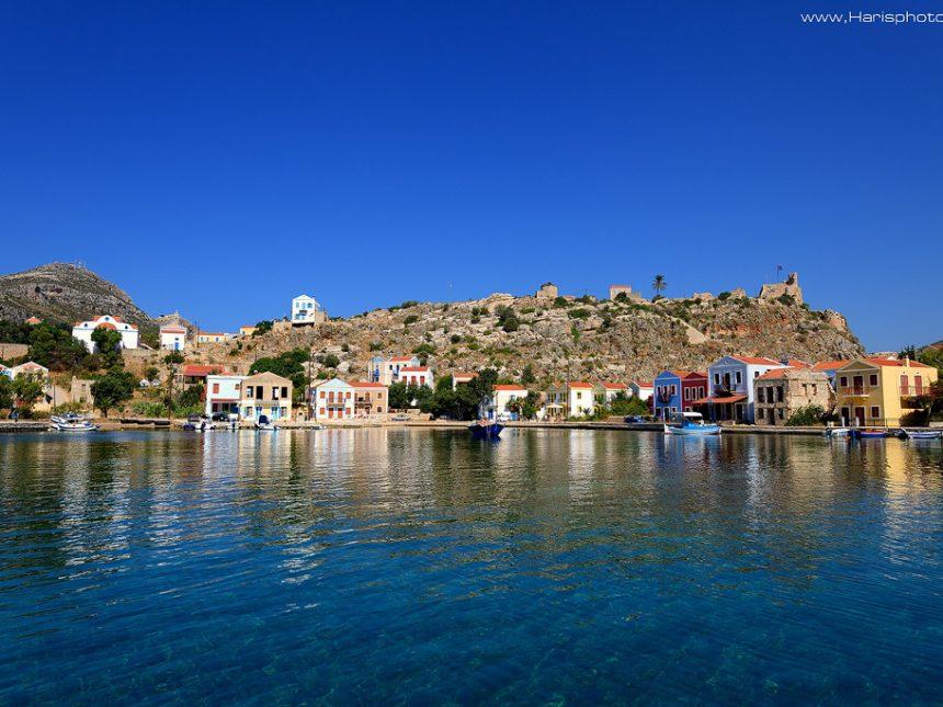 Mandraki the old harbor