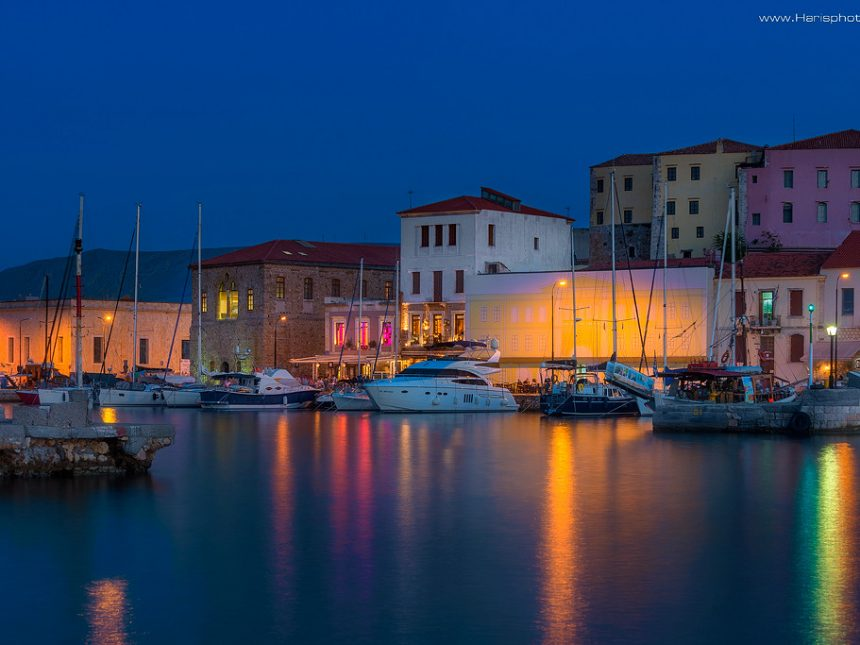 Old harbor of Chania