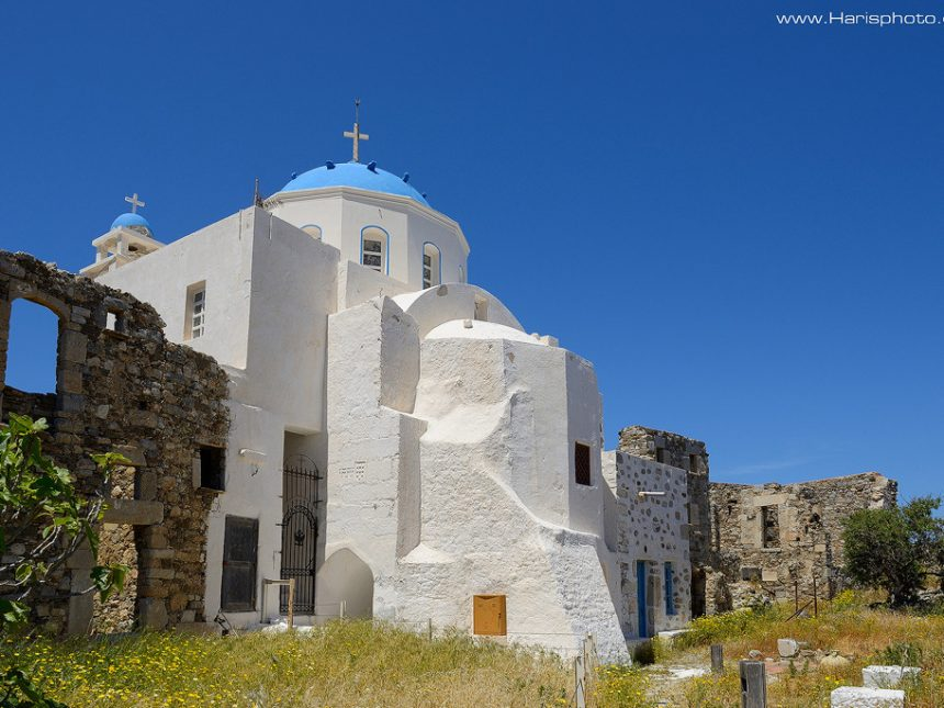 St George church at castle of Astypalea