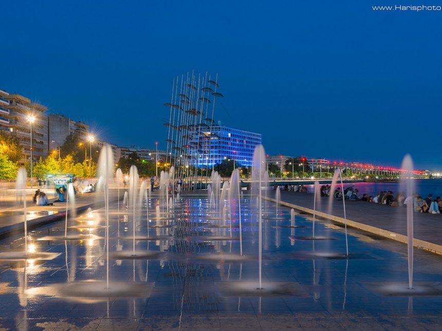 Thessaloniki nea paralia